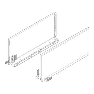 Blum Zarge LEGRABOX Höhe F (241,0 mm) links/rechts für LEGRABOX pure