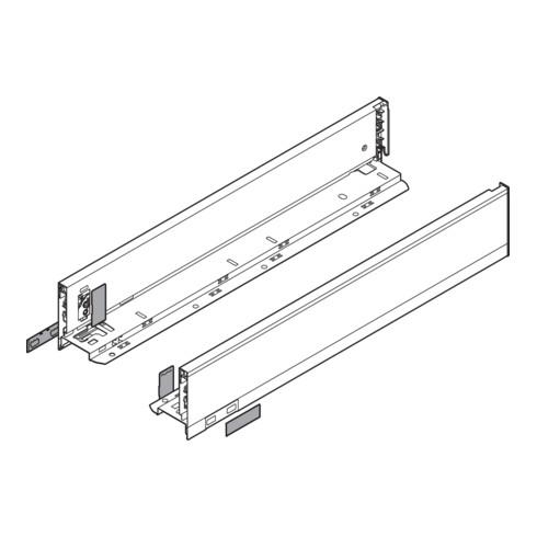 Blum Zarge LEGRABOX Höhe M (90,5 mm)