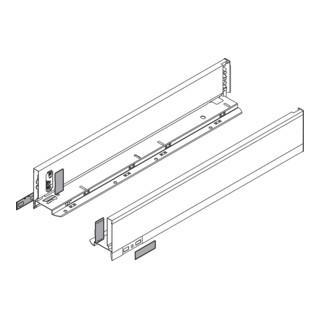 Blum Zarge LEGRABOX Höhe M (90,5 mm) links/rechts