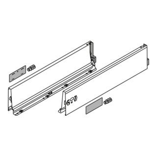 Blum Zarge TANDEMBOX Höhe K (115 mm) links/rechts für TANDEMBOX antaro