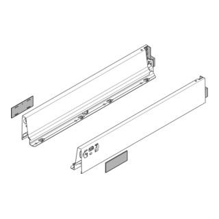 Blum Zarge TANDEMBOX Höhe M (83 mm) links/rechts für TANDEMBOX intivo/antaro