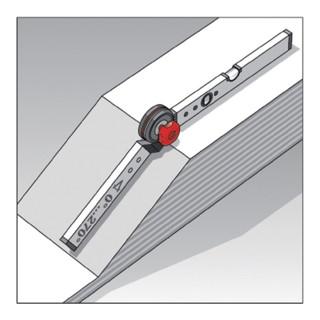 BMI Bauwinkel WINKELSTAR Messber.0-180Grad Schenkel-L.150x100cm