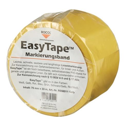 Bodenmarkierungsband Easy Tape PVC gelb L.33m B.75mm Rl.ROCOL