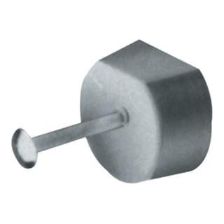 Hettich Bodenträger Perfekt F Kunsstoff mit Stahlstift