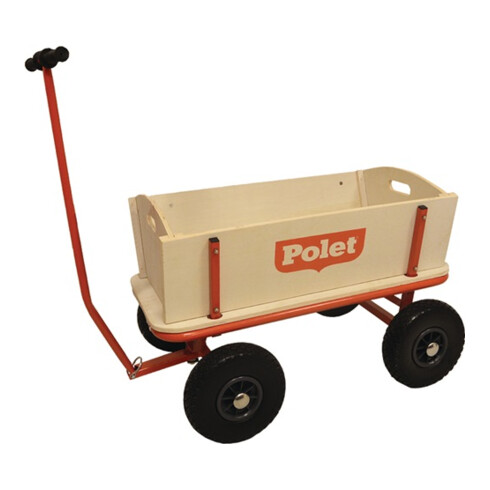 Bollerwagen 16,50kg 4 PU-Reifen/300 68l POLET