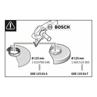 Bosch Absaughaube Easy-Adjust GDE 125 EA-T Systemzubehör