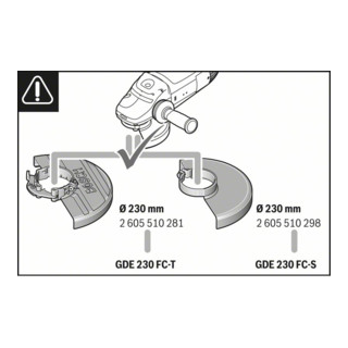 Bosch Absaughaube Full Cover GDE 230 FC-S Systemzubehör