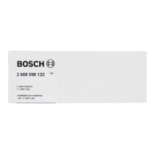 """Bosch Adapter für Diamantbohrkronen Maschinenseite 6-Kant Kronenseite G 1/2"""", 88 mm"""