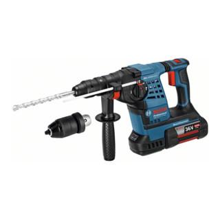 Bosch Akku-Bohrhammer GBH 36 VF-LI Plus mit 2 x 4,0 Ah Li-Ion Akku L-BOXX
