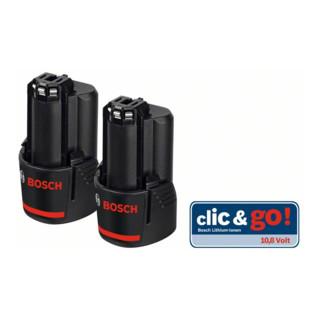Bosch Akku GBA 10,8 Volt, 2,5 Ah, Ersatz-Akkupack