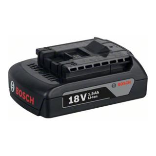 Bosch Akku GBA 18 Volt, 1,5 Ah, M-A
