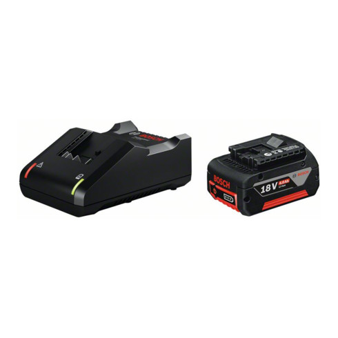 Bosch Akku Starter-Set: 1 x GBA 18 Volt 4,0 Ah und GAL 18V-40
