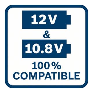 Bosch Akku Starter-Set: 2 x GBA 12 Volt, 2,5 Ah O-B und GAL 1230 CV