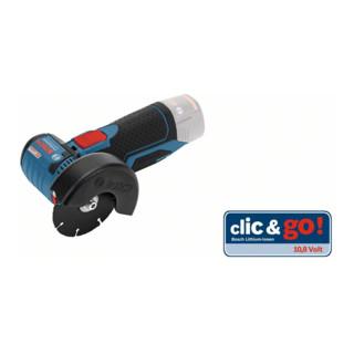 Bosch Akku-Winkelschleifer GWS 10,8-76 V-EC, Solo Version, L-BOXX