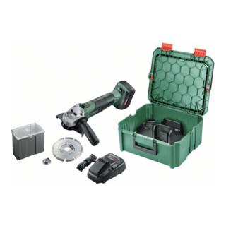 Bosch Akku-Winkelschleifer (ohne Akku und Ladegerät) AdvancedGrind 18 + SystemBox
