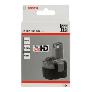 Bosch Akkupack 9,6 V-O Standard Duty (SD), 2,6 Ah NiMH