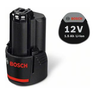 Bosch Akkupack GBA 12 Volt, 1,5 Ah
