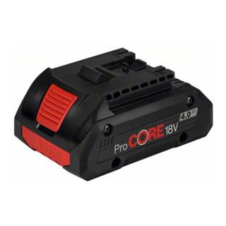 Bosch Akkupack ProCORE 18 Volt 4,0 Ah