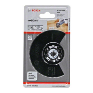 Bosch BIM Segmentsägeblatt ACZ 100 BB Wood and Metal 100 mm