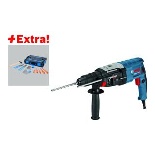 Bosch Bohrhammer GBH 2-28 F mit SDS-plus, L-BOXX und Gedore-BOXX