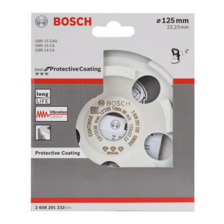 Bosch Diamanttopfscheibe Best for Protective Coating 125 x 22,23 x 4,5 mm