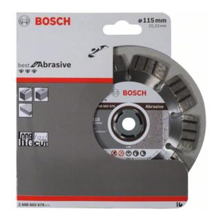 Bosch Diamanttrennscheibe Best for Abrasive