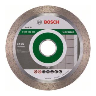 Bosch Diamanttrennscheibe Best for Ceramic, 125 x 22,23 x 1,8 x 10 mm