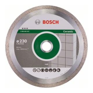 Bosch Diamanttrennscheibe Best for Ceramic 230 x 25,40 x 2,4 x 10 mm