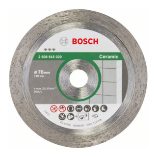 Bosch Diamanttrennscheibe Best for Ceramic 76 mm 1,9 mm 10 mm