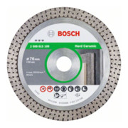 Bosch Diamanttrennscheibe Best for Hard Ceramic 76 x 10 x 1,9 x 10 mm
