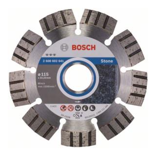 Bosch Diamanttrennscheibe Best for Stone