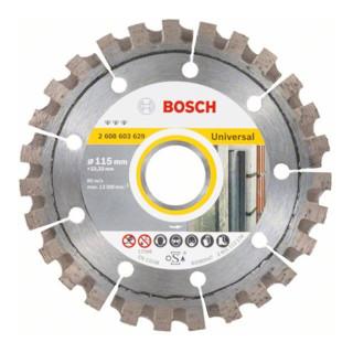 Bosch Diamanttrennscheibe Best for Universal