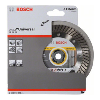 Bosch Diamanttrennscheibe Best for Universal Turbo