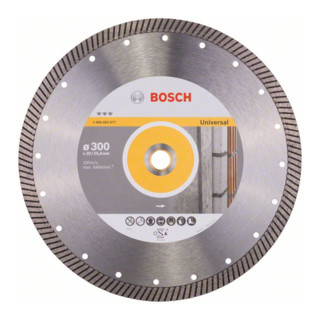 Bosch Diamanttrennscheibe Best for Universal Turbo 300 x 20,00/25,40 x 3 x 15 mm