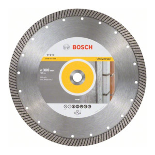 Bosch Diamanttrennscheibe Best for Universal Turbo 300 x 20,00 x 3 x 15 mm