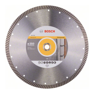 Bosch Diamanttrennscheibe Best for Universal Turbo 350 x 20,00/25,40 x 3,2 x 12 mm