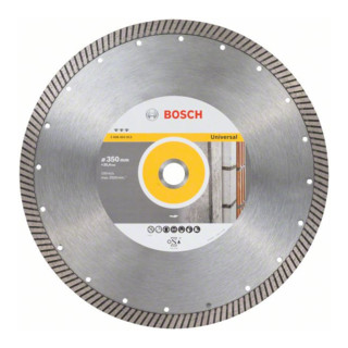 Bosch Diamanttrennscheibe Best for Universal Turbo 350 x 25,40 x 3,2 x 15 mm