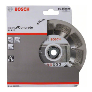 Bosch Diamanttrennscheibe Expert for Concrete