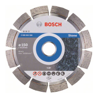 Bosch Diamanttrennscheibe Expert for Stone 150 x 22,23 x 2,4 x 12 mm