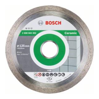 Bosch Diamanttrennscheibe Standard for Ceramic 125 x 22,23 x 1,6 x 7 mm