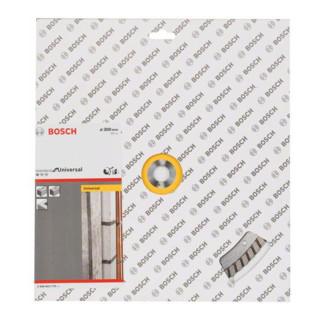 Bosch Diamanttrennscheibe Standard for Universal Turbo 300 x 20,00 x 3 x 10 mm