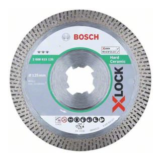 Bosch Diamanttrennscheibe X-LOCK Best for Hard Ceramic 125x22,23x1,6x10 mm