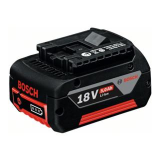 Bosch Einschubakkupack 18 V-Heavy Duty (HD), 5,0 Ah, Li-Ion, GBA M-C