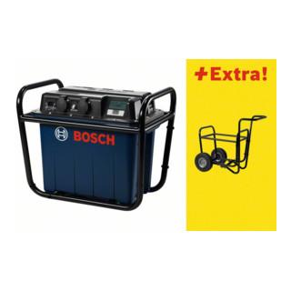 Bosch Generator GEN 230V-1500 Professional Power Unit, mit Transportwagen