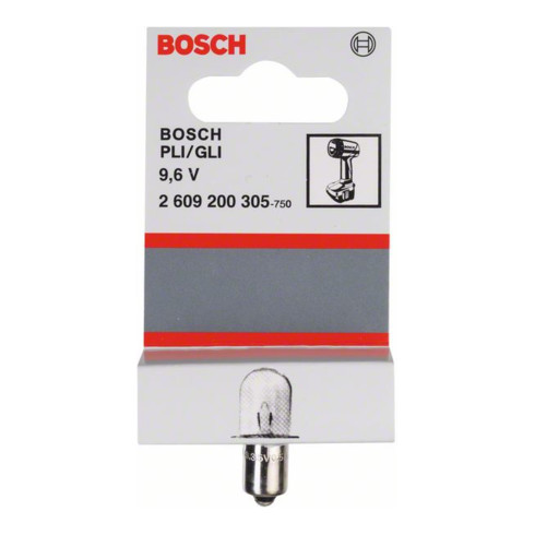 Bosch Glühlampe Spannung 9,6 V