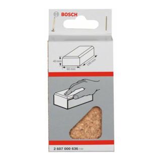 Bosch Handschleifklotz Länge x Breite: 60 x 100 mm aus Kork klein