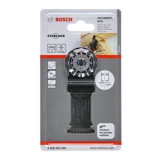 Bosch HCS Tauchsägeblatt AIZ 32 BSPC Hard Wood, 50 x 32 mm