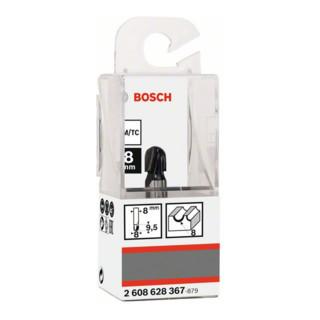 d 8 mm L 9,2 mm G 40 MM Bosch hohlkehlfräser 8 MM r1 4 mm