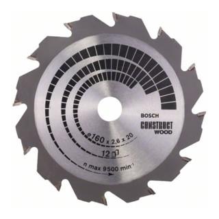 Bosch Kreissägeblatt Construct Wood für Handkreissägen