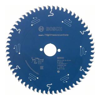 Bosch Kreissägeblatt Expert for High Pressure Laminate 210 x 30 x 2,8 mm 60